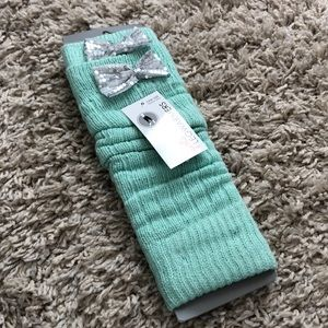 Other - NWT Girls Teal Leg Warmers